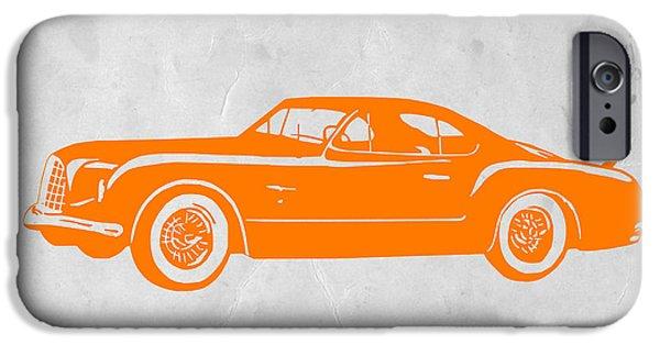 Classic Car 2 IPhone Case by Naxart Studio