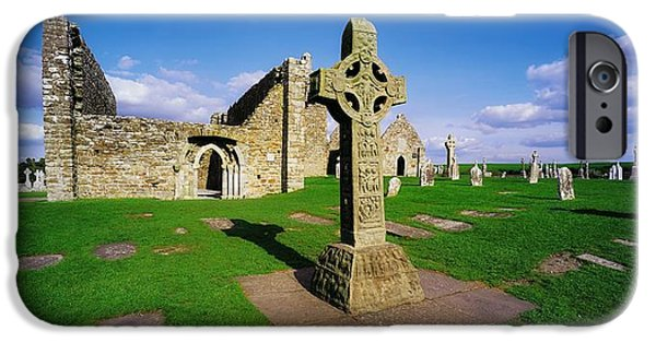 Clonmacnoise, Co Offaly, Ireland High IPhone Case by The Irish Image Collection
