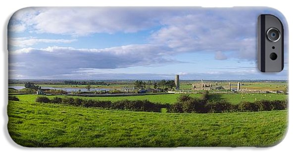 Clonmacnoise, Co Offaly, Ireland IPhone Case by The Irish Image Collection