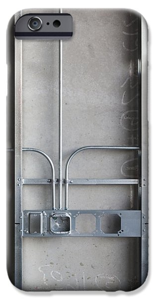 Commercial Building Under Construction IPhone Case by Don Mason
