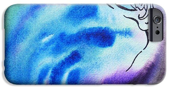 Dancing Water I IPhone Case by Irina Sztukowski
