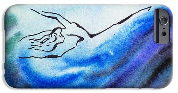 Dancing Water IIi IPhone Case by Irina Sztukowski