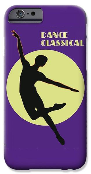Classical Dancer IPhone Case by Joaquin Abella
