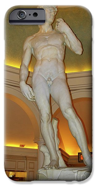 David Michelangelo IPhone Case by Mariola Bitner