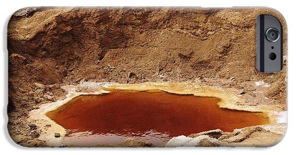 Dead Sea Sinkhole IPhone Case by Photostock-israel