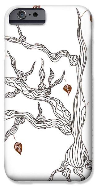 Dead Wood IPhone Case by Frank Tschakert