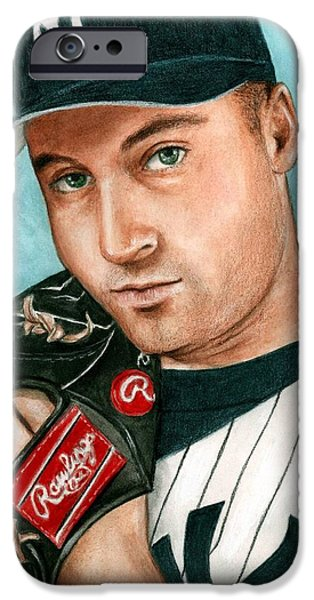 Derek Jeter  IPhone 6s Case by Bruce Lennon