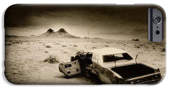Desert Arizona Usa IPhone Case by Simon Marsden