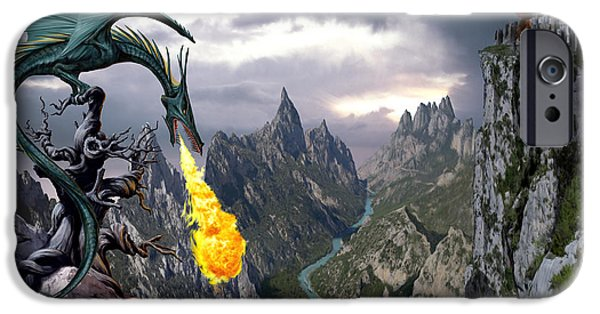 Dragon Valley IPhone 6s Case by The Dragon Chronicles - Garry Wa
