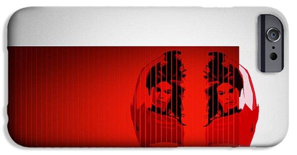 Dual IPhone Case by Naxart Studio
