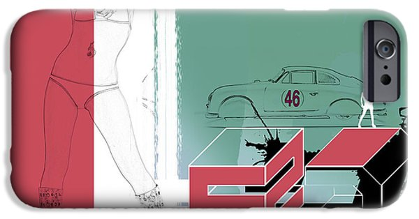Escape IPhone Case by Naxart Studio