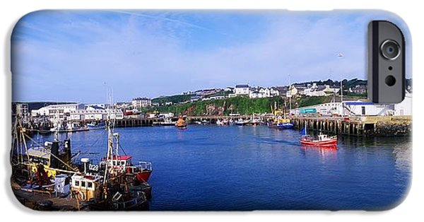 Fishing Harbour, Dunmore East, Ireland IPhone Case by The Irish Image Collection