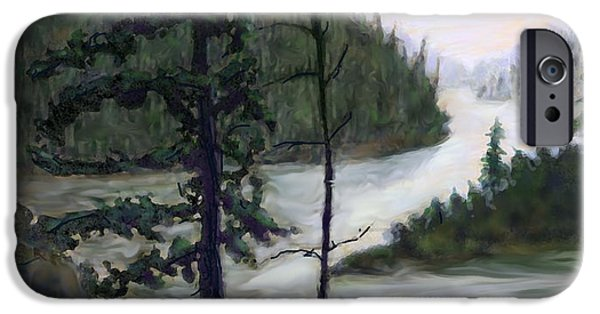 French River Country Northern Ontario IPhone Case by Ian  MacDonald
