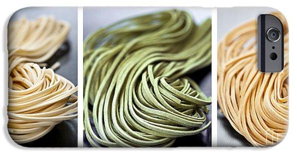 Fresh Tagliolini Pasta IPhone 6s Case by Elena Elisseeva