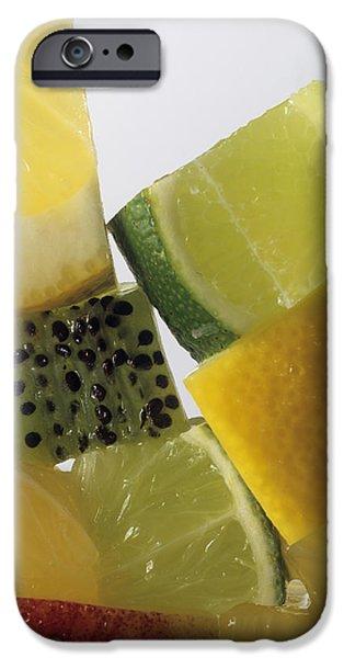 Fruit Squares IPhone Case by Veronique Leplat