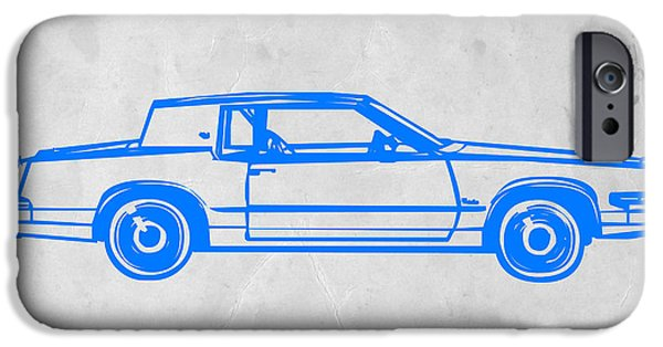 Gangster Car IPhone Case by Naxart Studio