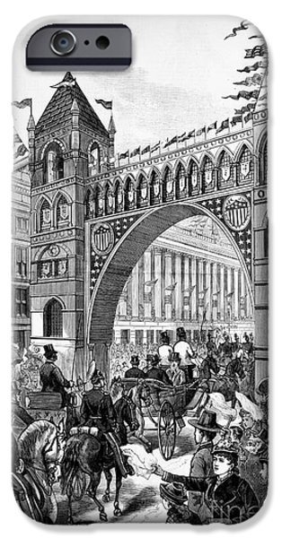 Garfield Inauguration, 1881 IPhone Case by Granger