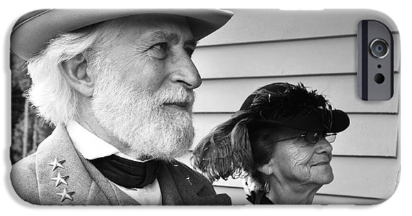 General Lee And Mary Custis Lee IPhone Case by Thomas R Fletcher
