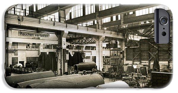 German Rocket Factory, 1943 IPhone Case by Detlev Van Ravenswaay