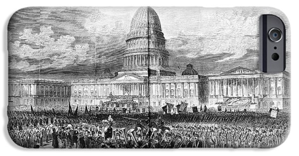 Grants Inauguration, 1873 IPhone Case by Granger