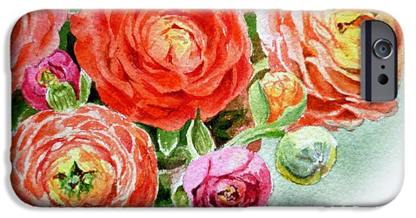 Happy Mothers Day Card IPhone Case by Irina Sztukowski