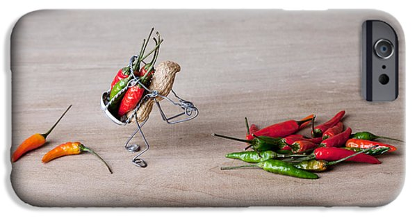Hot Delivery 02 IPhone Case by Nailia Schwarz