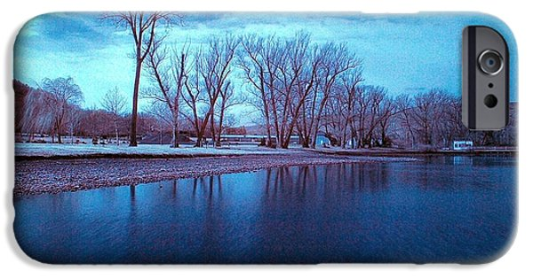 Infrared By The Lake IPhone Case by Joshua House