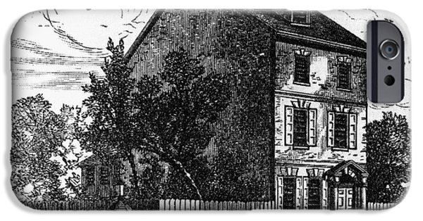 Jeffersons House, 1776 IPhone Case by Granger