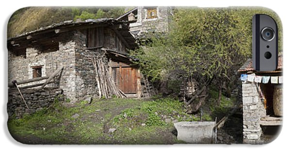 Kandru Village A Farming Community IPhone Case by Phil Borges