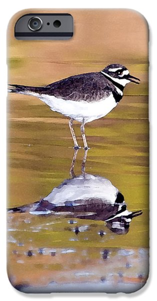 Killdeer Reflection IPhone 6s Case by Betty LaRue