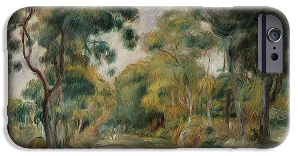 Landscape At Noon IPhone Case by  Pierre Auguste Renoir
