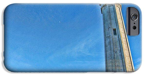 Lighthouse-alcatraz IPhone Case by Douglas Barnard