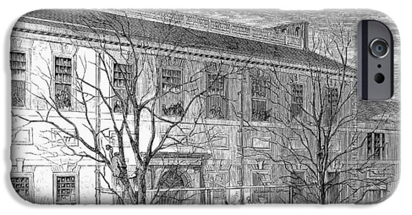 Lincoln: Independence Hall IPhone Case by Granger