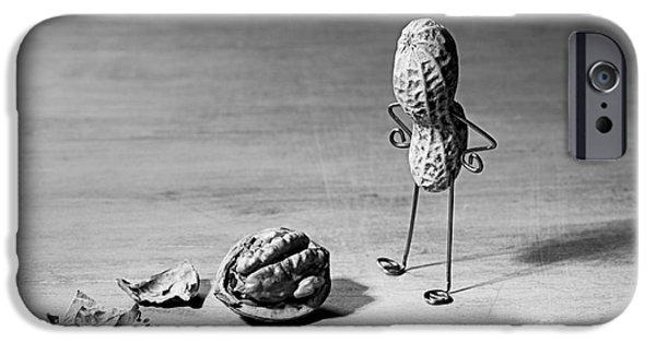 Lost Brains 02 IPhone Case by Nailia Schwarz