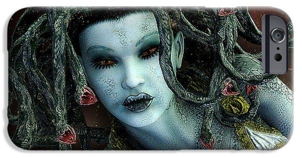 Medusa IPhone 6s Case by Jutta Maria Pusl