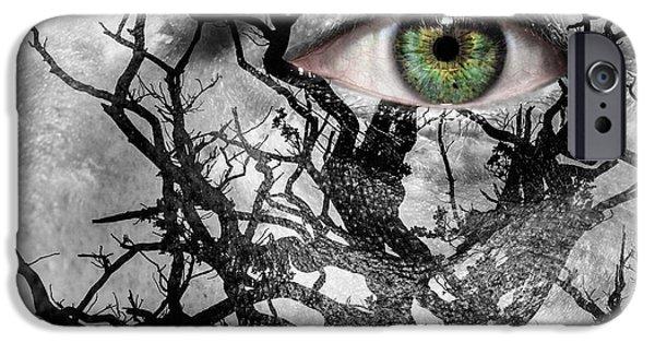 Medusa Tree IPhone 6s Case by Semmick Photo