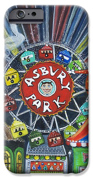 Memories Of Asbury Park  IPhone Case by Patricia Arroyo