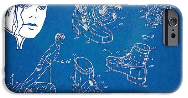 Michael Jackson Anti-gravity Shoe Patent Artwork IPhone 6s Case by Nikki Marie Smith