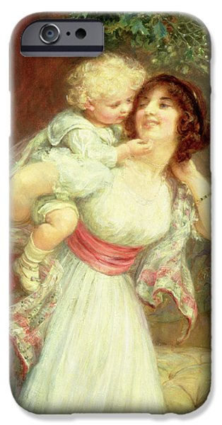 Mothers Darling IPhone Case by Frederick Morgan