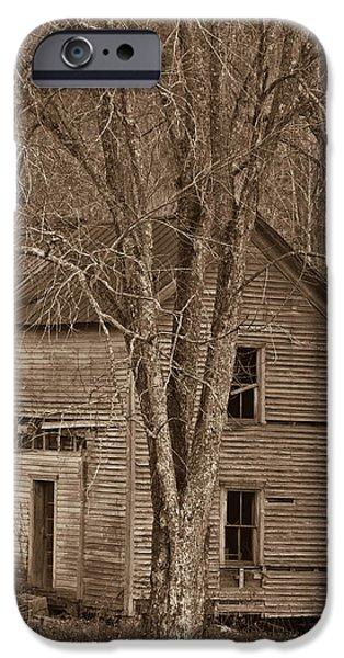 Nostalgic Farmhouse 5 IPhone Case by Douglas Barnett