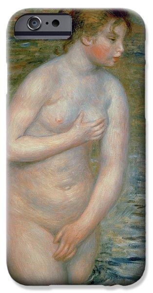 Nude In The Water IPhone Case by Pierre Auguste Renoir