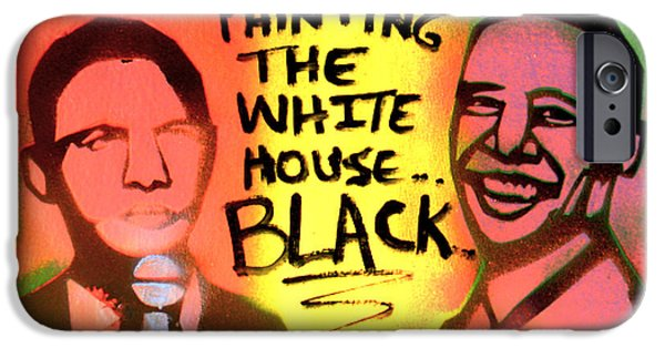 Painting The White House Black IPhone Case by Tony B Conscious