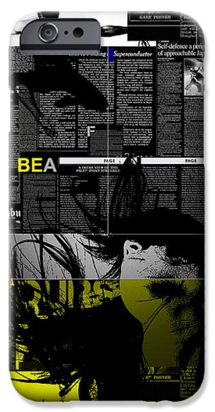 Paper Love IPhone Case by Naxart Studio
