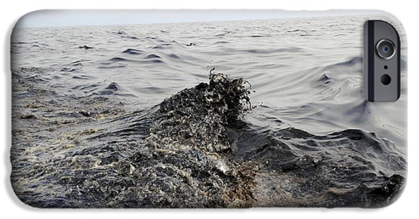 Part Of An Oil Slick In The Gulf IPhone Case by Stocktrek Images