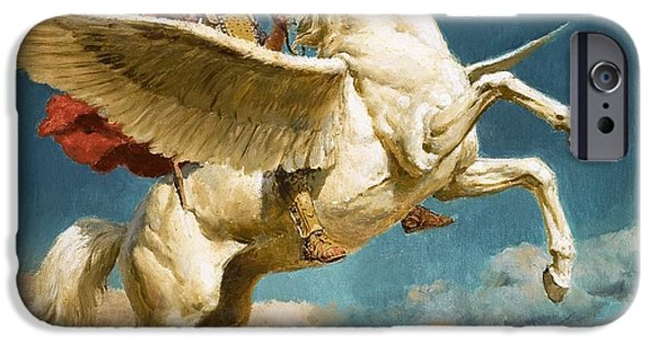 Pegasus The Winged Horse IPhone 6s Case by Fortunino Matania