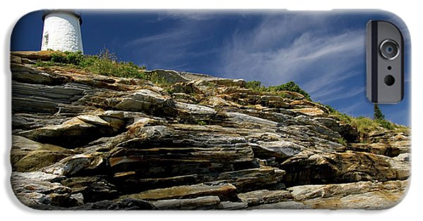 Pemaquid Point Lighthouse IPhone Case by Rick Berk