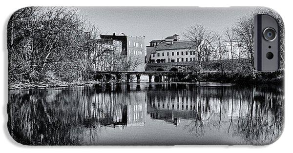 Penn Yan Bridges In Black And White IPhone Case by Joshua House