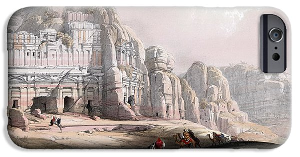 Petra  IPhone Case by Munir Alawi