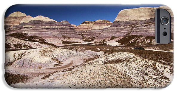 Petrified Forest Blue Mesa IPhone Case by Adam Jewell