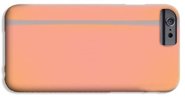 Pink Yellow And Grey IPhone Case by Gary Grayson